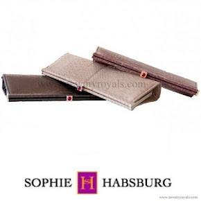 Countess Sophie carried Sophie Habsburg Amber clutch