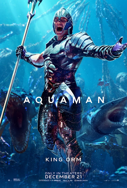 """Aquaman"" - Patrick Wilson as King Orm"