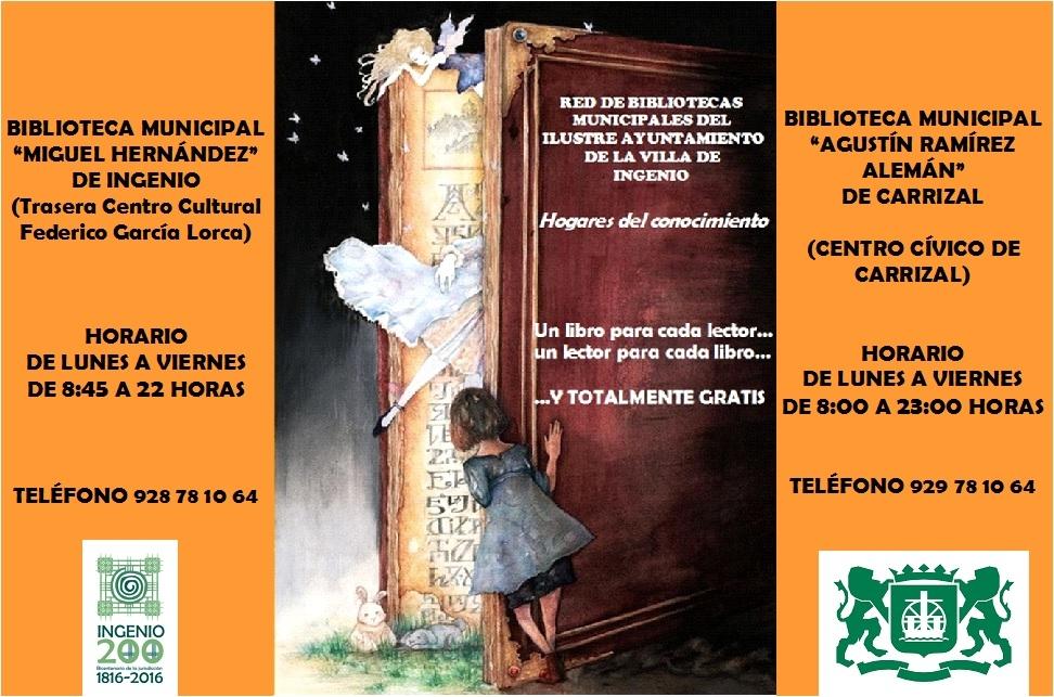 Actividades en las Bibliotecas Municipales por el Día de Canarias