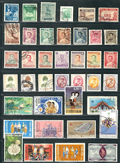 Thailand - Collection of Used Stamps ..............# 7O08