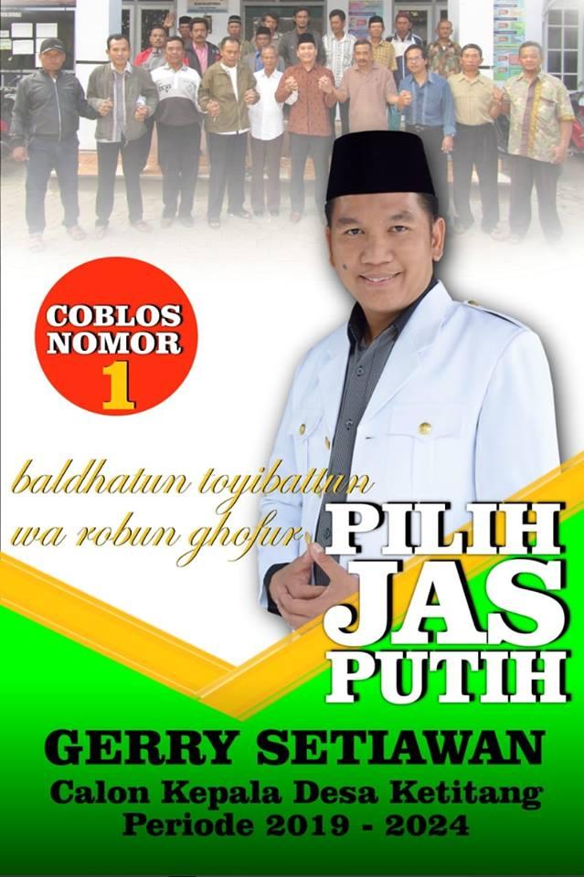 Contoh Baliho Pilkades Keren Terbaru - desain banner kekinian