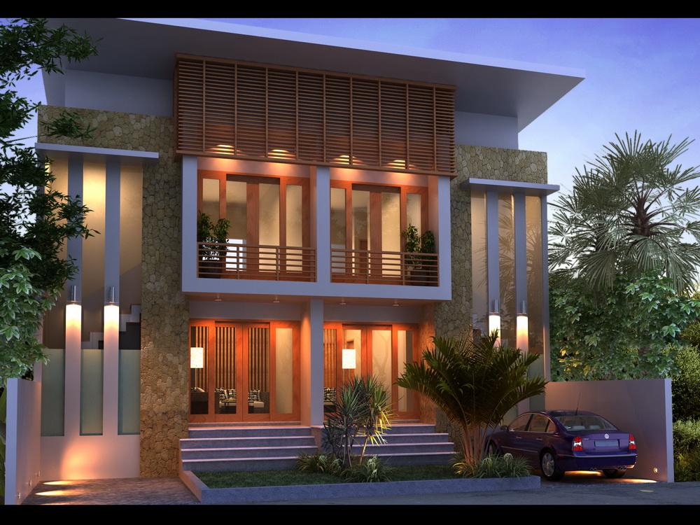 Desain  Rumah  Lengkap  Luar Dalam Gambar 06