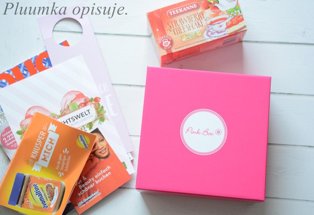 Pink Box - niemieckie pudełko z kosmetykami - LISTOPAD.