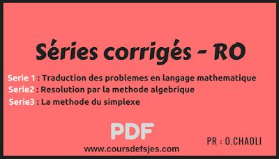 exercice corrigé recherche pdf