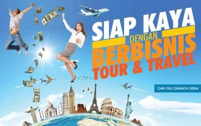 SIAP KAYA DENGAN FRANCHISE TOUR&TRAVEL