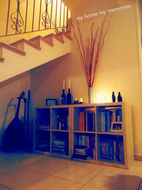 διακοσμηση-σκαλας-με-βιβλιοθήκη-Ικεα