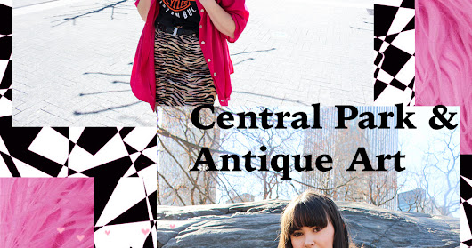 LSB IN NYC: Central Park and Antique Art