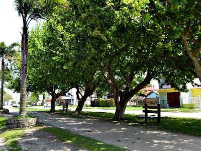 Avenida Rio Grande no balneario cassino