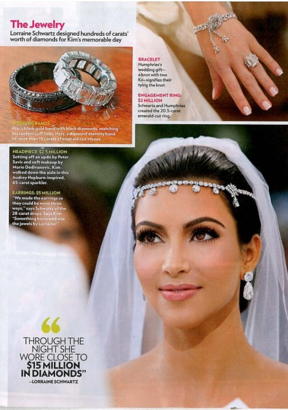 Kim Kardashian Jewelry Wedding 3f6b5c495c5