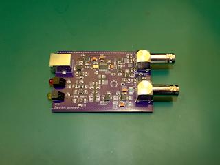 Placa do gerador de funções GF2.