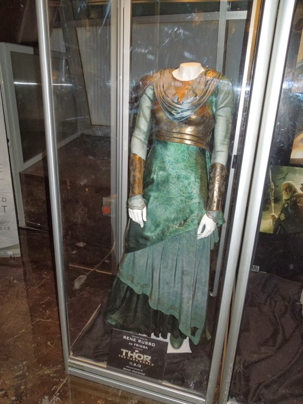Thor 2 Rene Russo Frigga movie costume