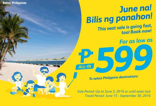 Cebu Pacific Promo 599 Pesos Philippine Destinations