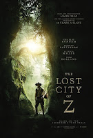 The Lost City of Z UK poster