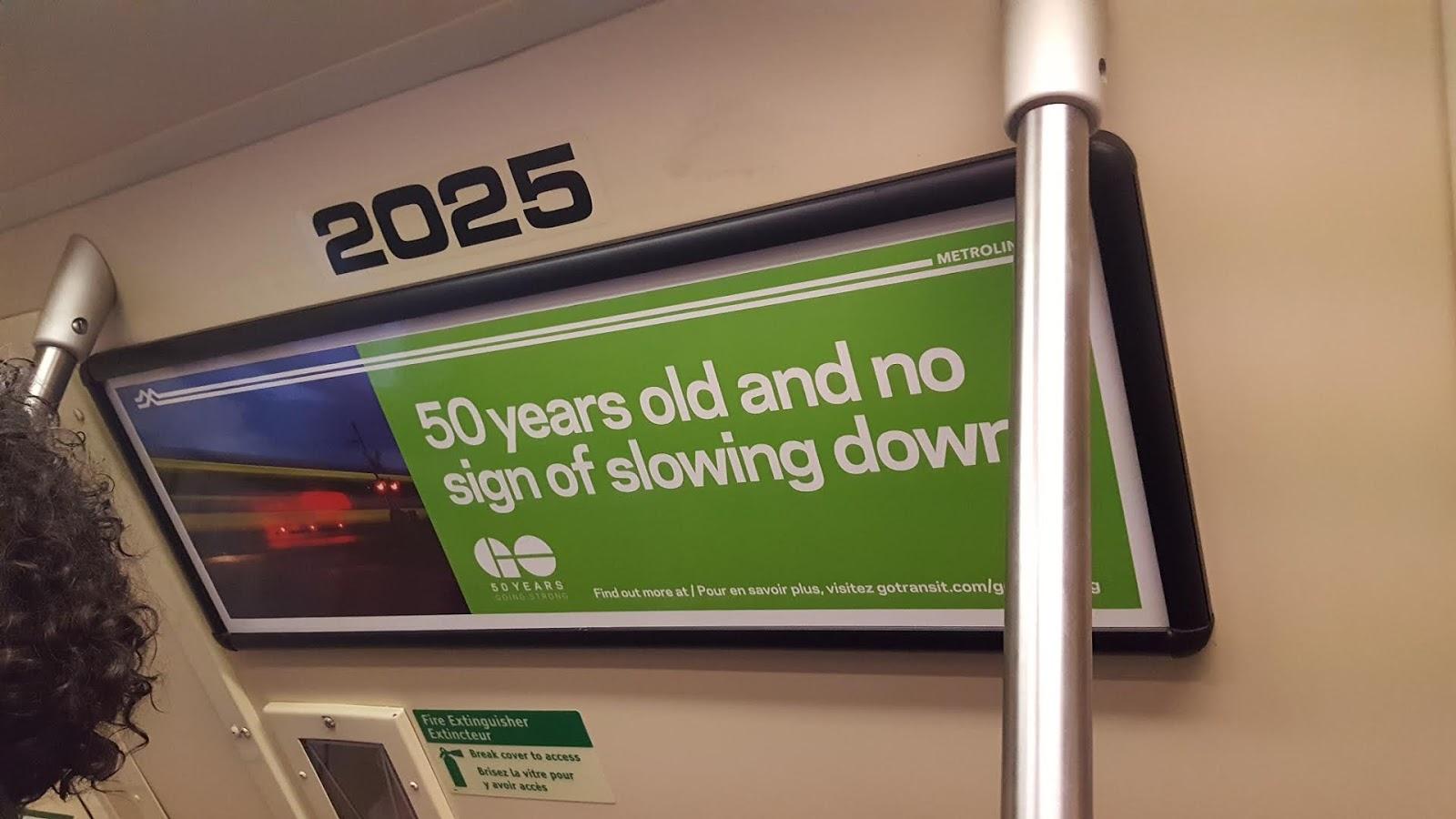 GO 50 years