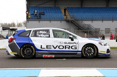 Subaru Levorg GT NGTC 2016 Side