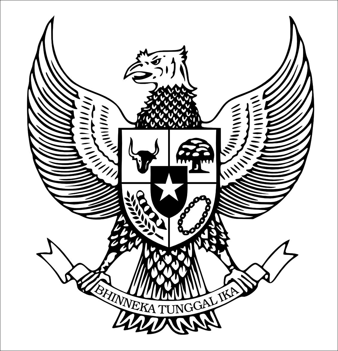 Fifth image of Gambar Burung Garuda Pancasila Untuk Mewarnai with Logo Indonesia dan Dunia: December 2014