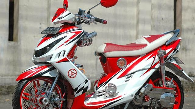 FOTO Modifikasi Motor Mio Sporty Tips Yamaha Terbaru