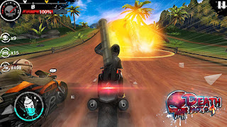 in addition to avoid whatsoever obstruction y'all establish inwards gild to endure inwards the fell street of Death Moto  Foneboy Death Moto four APK Android Game Download + Review