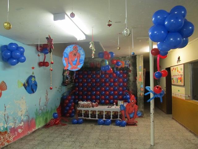 Decoracion de spiderman medellin recreacionistas for Decoracion del hogar en medellin