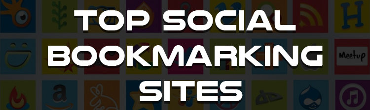 Top 300 High PR and New Social Bookmarking Sites List in