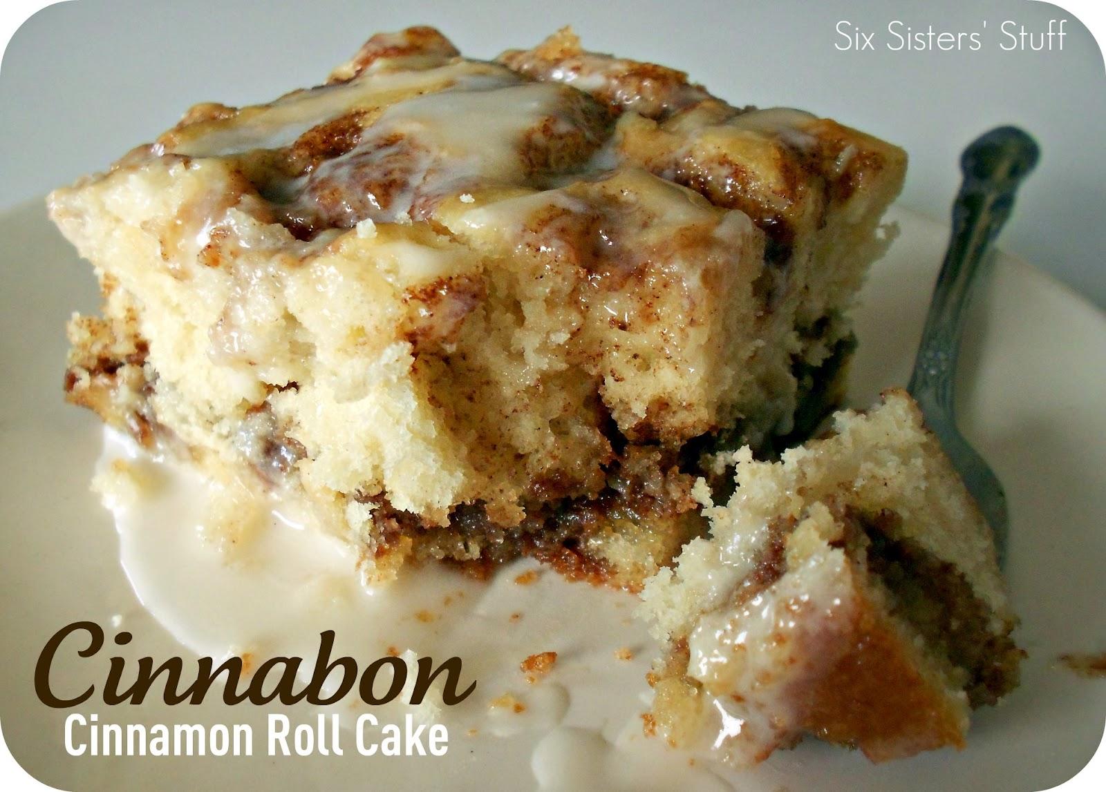 Cinnamon Roll Swirl Coffee Cake Recipe
