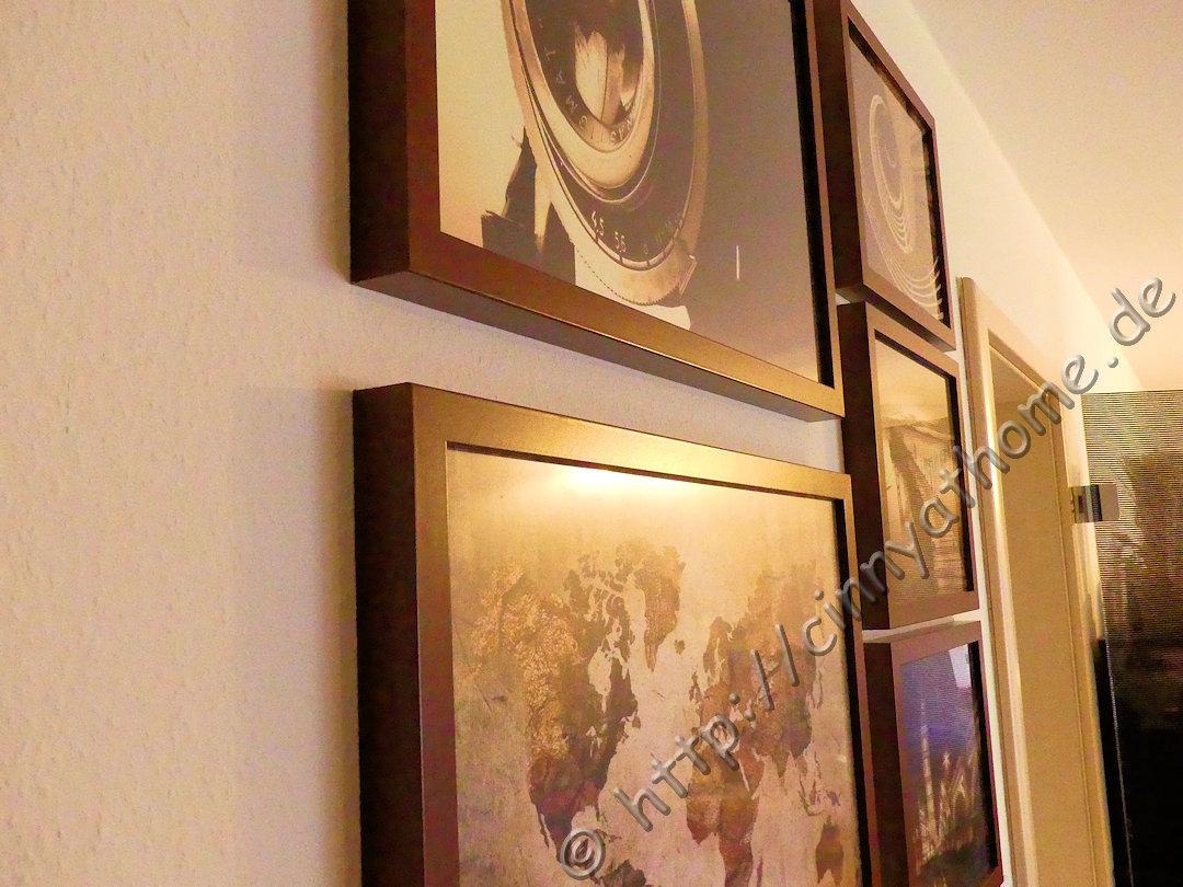 Cinny@Home: Im neuen Wohnzimmer sind nun neue Bilder an der Wand ...