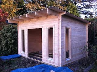 Cabin Living Garden Office Building In Dollar