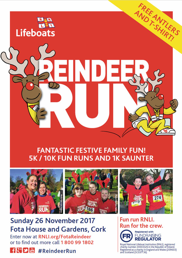 There Is A 5km 10km Reindeer Run On The Grounds Of Fota House Sunday 26th November 2017