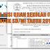 Download Kisi Kisi US/M untuk tingkat SD/MI tahun 2018