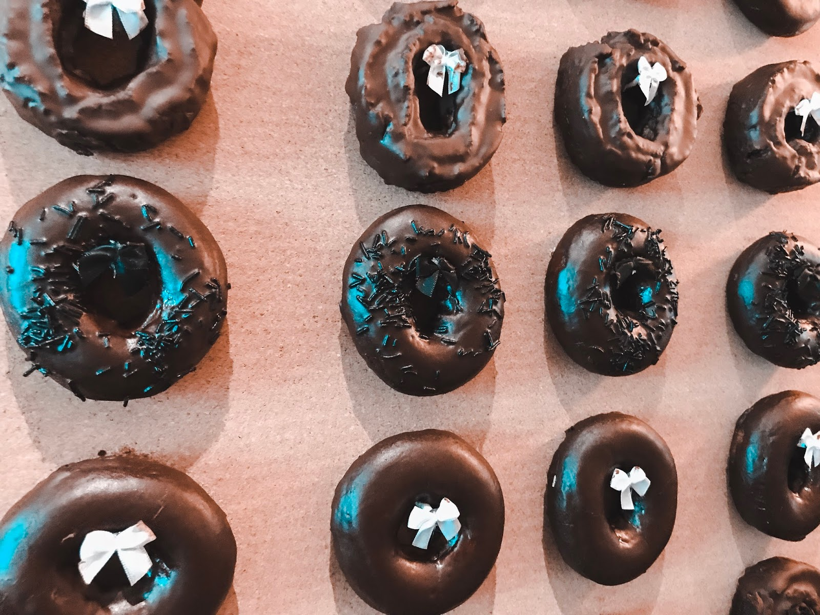 Krispy Kreme Doughnuts in CHOCOLATE