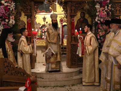 ИПЦ Греции: Пасха Христова в соборе Св. Маркелла в Астории (Нью-Йорк). ФОТО