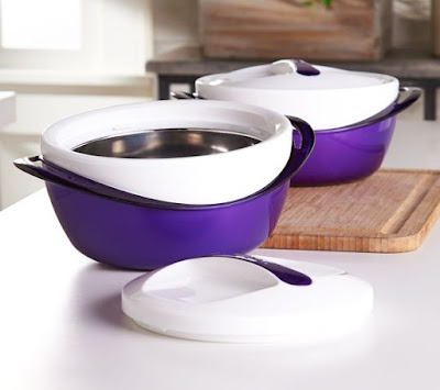 Thermal Hot/Cold Serving Bowls from QVC