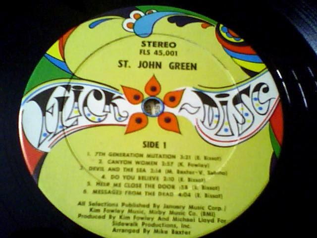 Hippydjkit St John Green 1968 Us