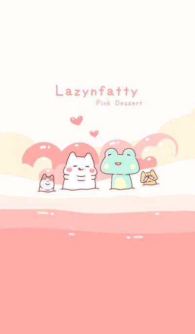 胖才可爱-粉色甜点