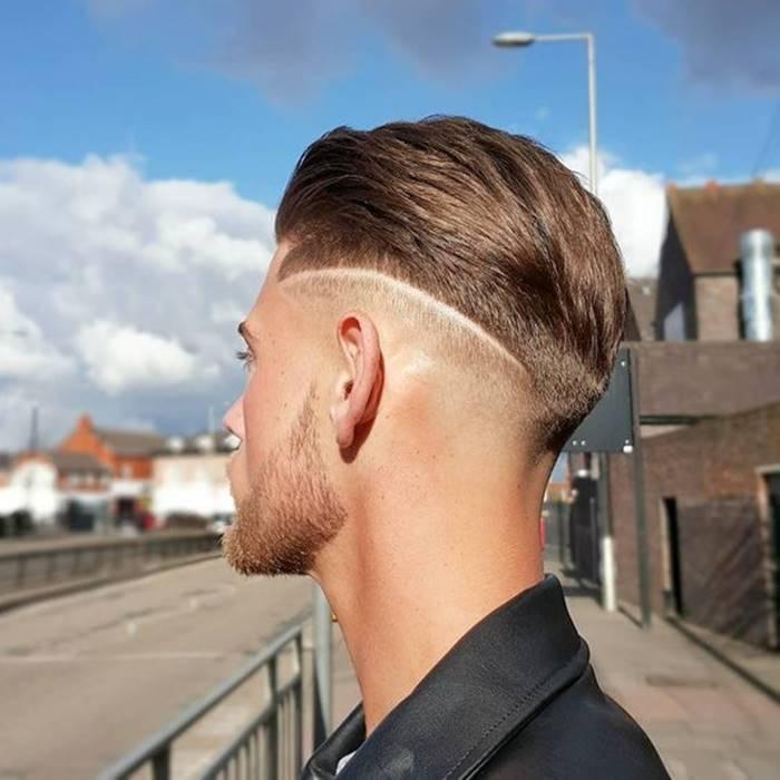 Cortes de cabelo masculino para 2020 riscos e desenhos na cabeça e nuca