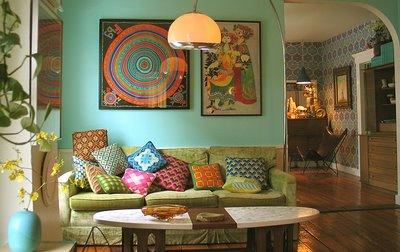 Como Decorar La Casa Alegría Y Colores Con El Estilo Hippie