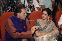 Sri Devi in designer saree stunning beauty at the launch of MOM movie Trailer~  Exclusive 131.JPG