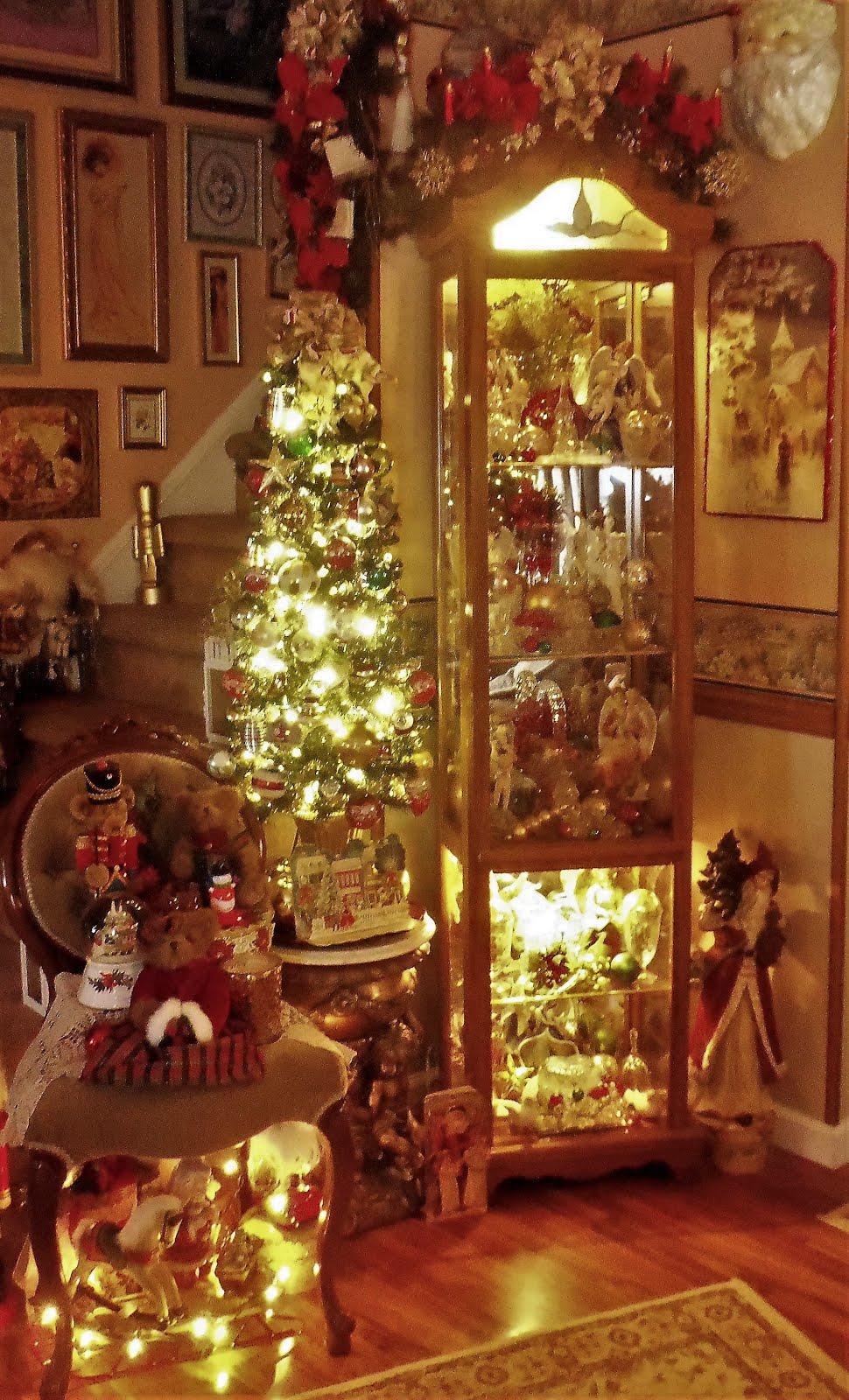 A Christmas Evening Tour of our Home, Christmas Home Tour, 2017