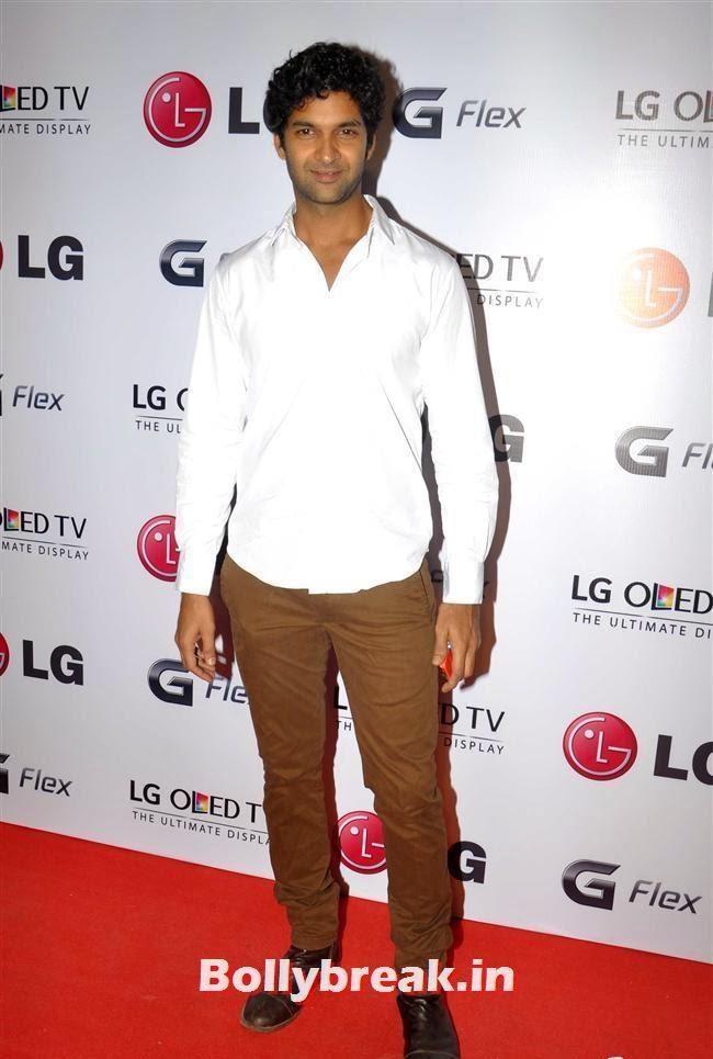 Purab Kohli, Celebs at LG G Flex Smartphone Launch