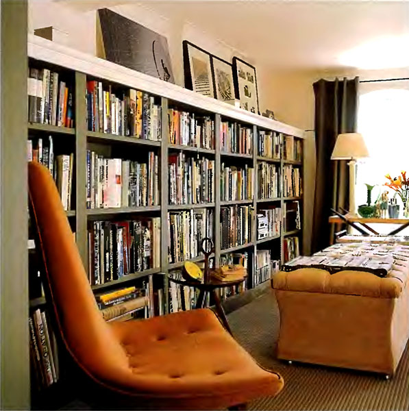 11 Contoh desain Rak buku  Design Rumah