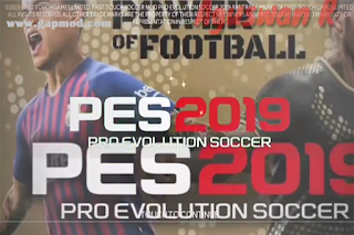 FTS Mod PES 2019 APK OBB+Data by Alboin Messi Download for Android