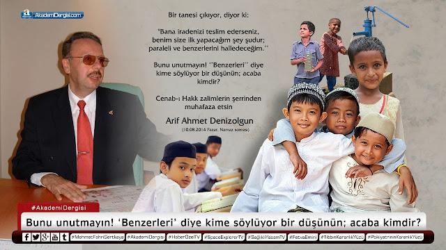 akademi dergisi, Mehmet Fahri Sertkaya, video izle, süleymancılar, cemaat, tarikat, arif ahmet denizolgun, vefat, akp'nin gerçek yüzü,