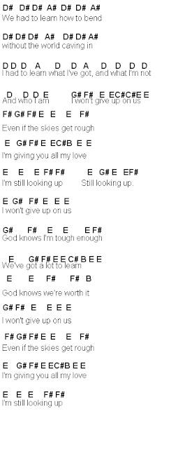 Flute Sheet Music I Wont Give Up