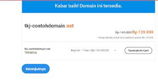 Cara Daftar dan Membeli Domain (TLD) Di Alfamart dan Indomaret