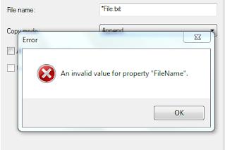 invalid property value 6