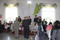 Uzbekistan, Rishtan, Uzbek Korean wedding dinner, © L. Gigout, 2012