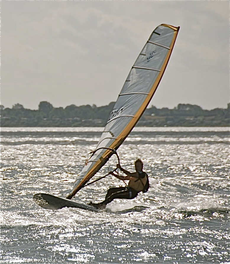 Raceboard windsurfing: THE WEIGHT OF EQUIPMENT