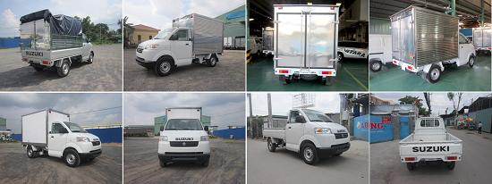 Bán xe Suzuki Carry Pro Nhập khẩu ,Máy Lạnh,Thùng Kín,Mui bạt 2017