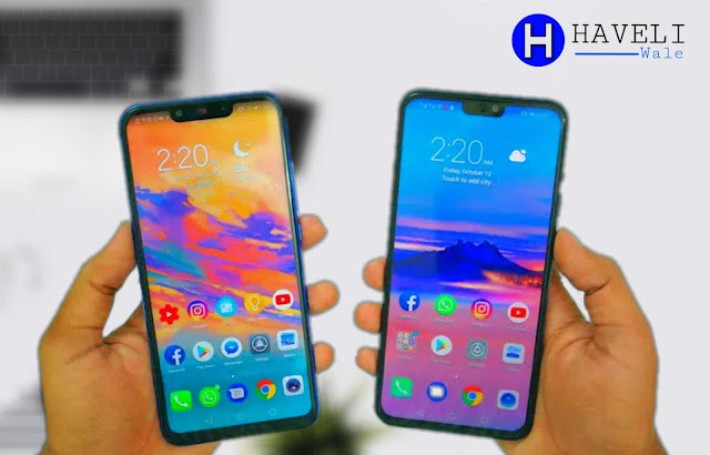 Huawei Nova 3i vs Huawei Honor 8x Comparison - Haveli Wale