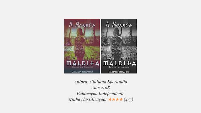 "Resenha: ""A Boneca Maldita"" - Giuliana Sperandio"